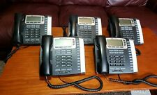 Lot Of 5 Allworx 9212l Voip Backlit Display Office Phone Amp Stand Ethernet Line