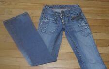 LE TEMPS DES CERISES  Jeans pour Femme W 24 - L 32 Taille Fr 34 (Réf # C192)