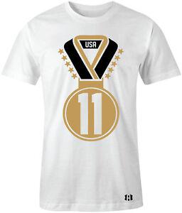 4ff42859c2817e Gold Medal  11-T-Shirt to Match Air Retro 11