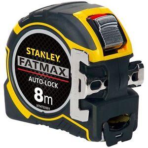 STANLEY-XTHT-0-33501-0-33-501-8m-metri-metro-a-nastro-Fatmax-Autolock-METRICA-solo