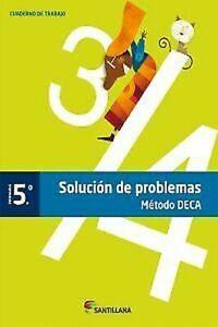 (13) .cuad.resolucion Problèmes 5º .prim. (méthode Deca ) . La Carte (espagne) Distinctive Pour Ses PropriéTéS Traditionnelles