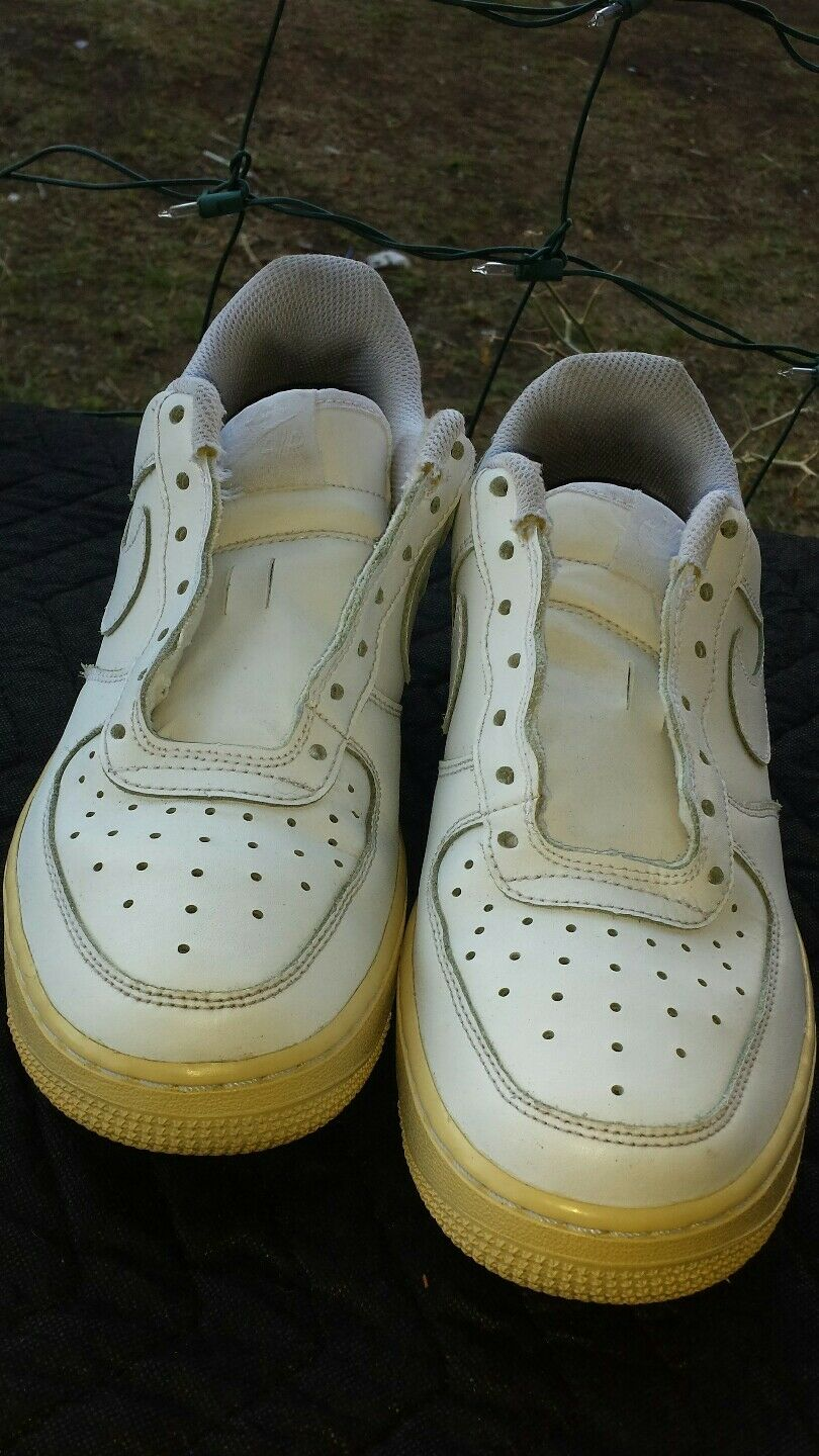 Air Force Ones size 8y