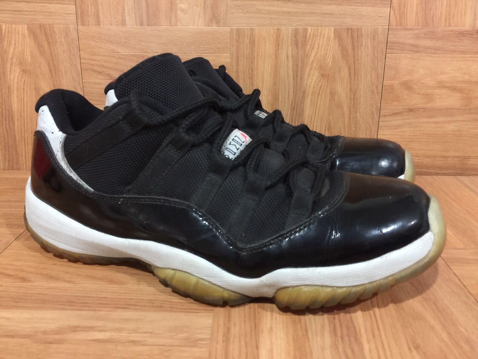 RARE Nike Air Jordan 11 XI Retro Low Infrared 23 Tuxedo Sz 8 shoes 528895-023