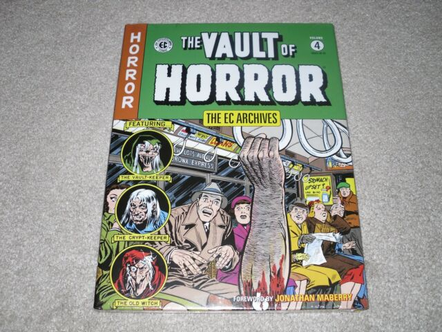 The EC Archives The Vault of Horror Volume 4 Graphic Novel - Dark Horse - Sealed