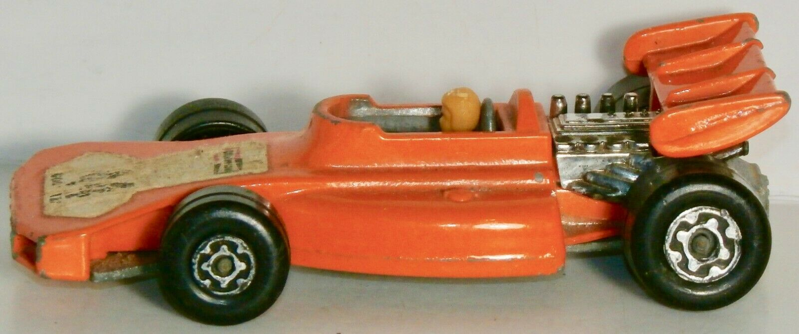 MATCHBOX SUPERFAST orange 44 TEAM MATCHBOX MADE IN ENGLAND BY LESNEY 1973