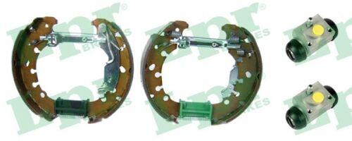 LPR BREMSBACKENSATZ Easy Kit oek624 203 mm aluminium arrière pour Opel Corsa s07
