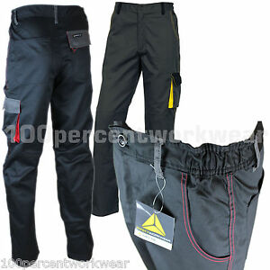 Delta Plus DMPAN Men Work Wear Cargo Trousers Pants Knee Pad ...