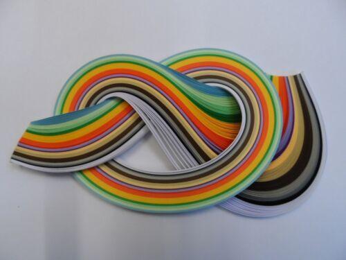 tiras de 175-Surtido de Colores de otoño Papel Encañonado 10mm