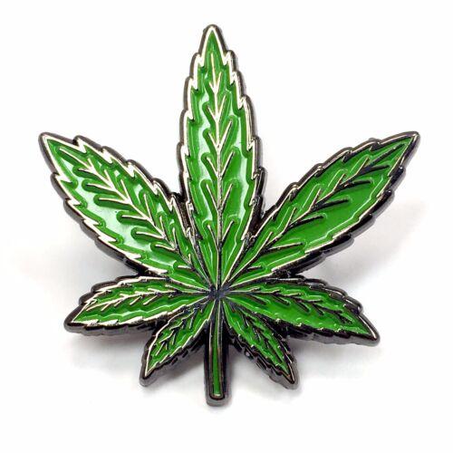Weed Leaf Marijuana 420 Cannabis Stoner 710 Heady Enamel Festival Lapel Pin