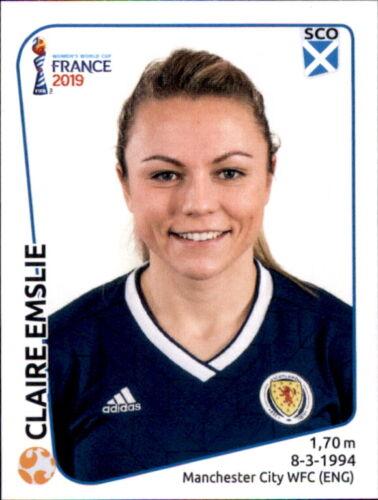 Panini Frauen WM 2019 Sticker 283 Claire Emslie Schottland