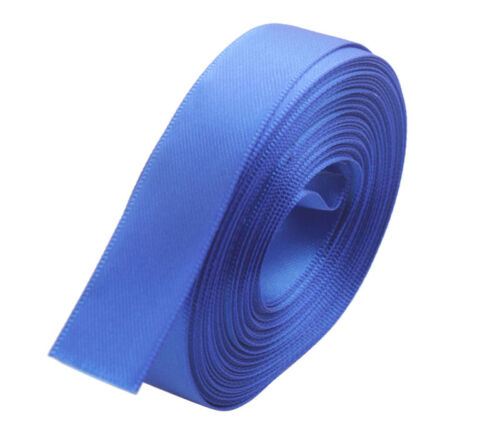 18 Meters Of 15mm Various Pure Color Craft Scrapbooking Satin Ribbon