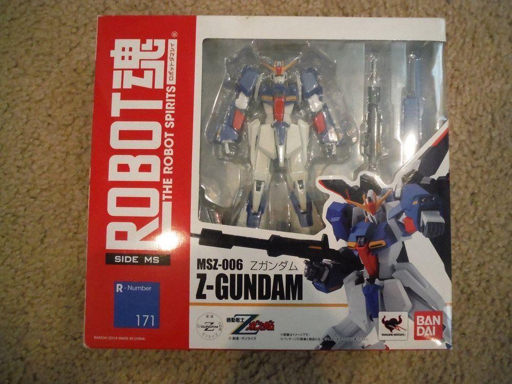 Robot Spirits R-171 MSZ-006 Z-Gundam Z GUNDAM TAMASHII BANDAI SDIE MS 171 LAST