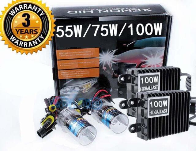 6000K 2 Year Warranty 9005 Kensun HID Kit with Xenon Lights