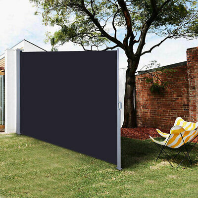 Retractable Side Awning Outdoor Garden Wall Wind Screen ...