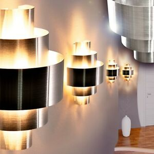 design wandlampe wandleuchte wand strahler wohn zimmer lampen flur leuchten ebay. Black Bedroom Furniture Sets. Home Design Ideas