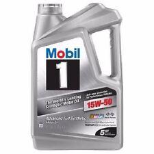 Mobil 1 15W-50 Full Synthetic Motor Oil 5 qt. (98KG86)