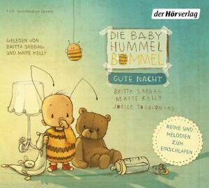 MAITE-SABBAG-BRITTA-KELLY-DIE-BABY-HUMMEL-BOMMEL-GUTE-NACHT-CD-NEU