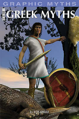 "1 of 1 - ""VERY GOOD"" Greek Myths (Graphic Myths), Shone, Rob, Book"