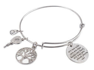 Expandable-Wire-Bangle-It-039-s-not-who-you-are-that-holds-Charm-Bracelet