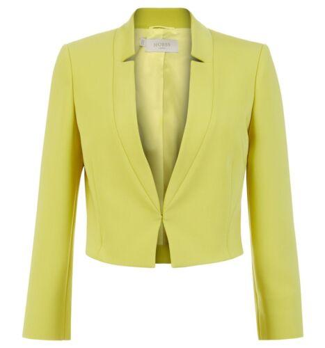 Hobbs Imogen Lemon Drop Mul Giacca RRP £ 149. varie Taglie