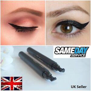 Details About Uk Winged Wing Eyeliner Stamp Thin Black Waterproof Fashion Vamp C115