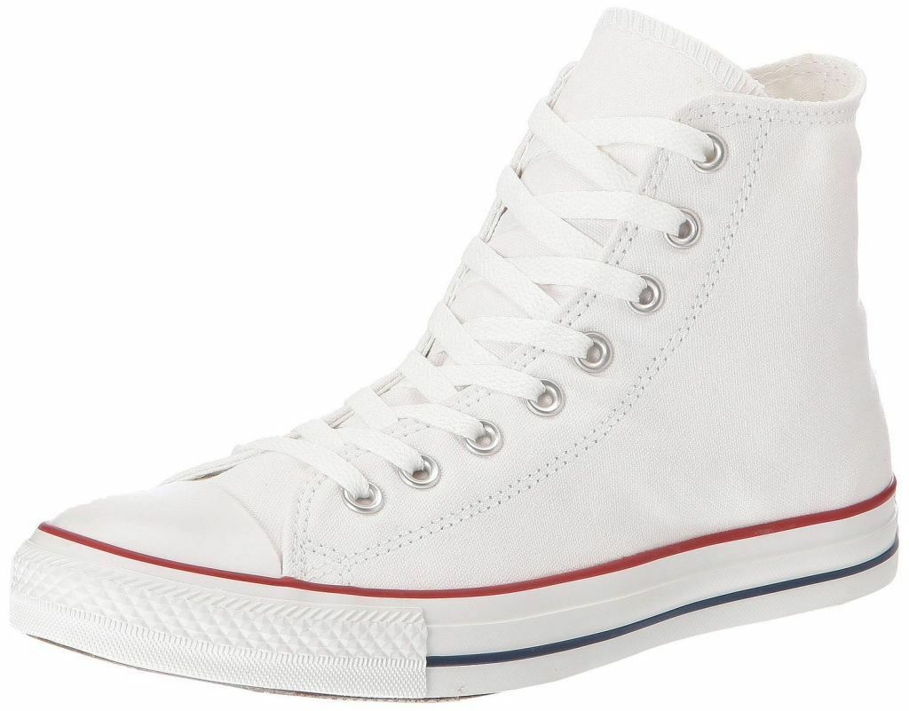 Converse Converse Converse Chuck Taylor All Star White Hi Unisexe Trainers Shoes Boots 6f5825