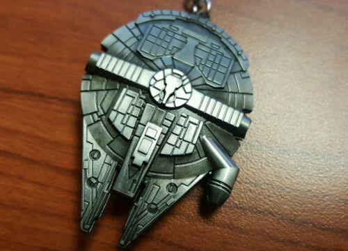 Star Wars Millennium Ship Falcon Ceiling Fan Light Kit Chain Antique Silver Pull Sointechile Cl
