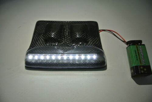 Vaterra Twin Hammer  2XCFL CARBON FIBER Roof  LED WITH light strip