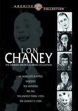 LON CHANEY - WARNER CLASSICS COLLECTION (6 movie set)  Region Free DVD - Sealed