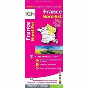France-North-East-2015-ign-Institut-Geographique-National-New-Book