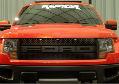 2 Decal sticker kit for Ford Raptor frond window wind windshield hood air vents