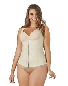 26ed98644a NWT Co Coon Plus Size 5X Beige Latex Waist Trainer Vest 888929999779 ...