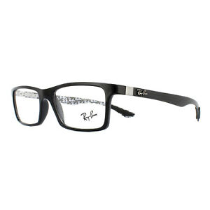 efa3bc0e6c Ray-Ban Glasses Frames 8901 5610 Black On Shiny Grey 55mm ...