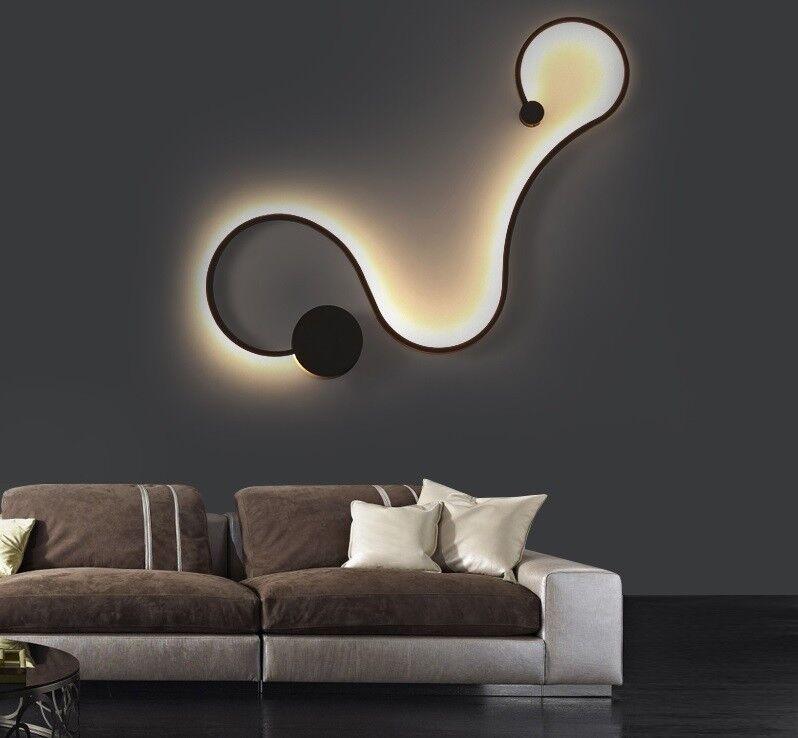 LED Modern Wall Lamps for Bedroom Study Living Room Acrylic Decor