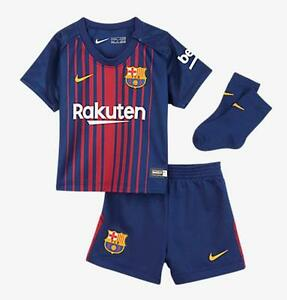 ecce451c905 Chargement de l'image Nike-Barcelona-2017-18-Infant-Toddler-Home-Jersey-