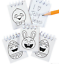 Pack-of-12-Colour-Your-Own-Easter-Mini-Notebooks-Egg-Hunt-Party-Bag-Fillers thumbnail 2