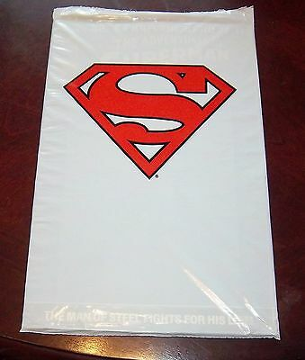 UNPUNCHED! SUPERMAN 1993 Skybox DC SKYCAPS Promo Sheet Set Of 5 Caps