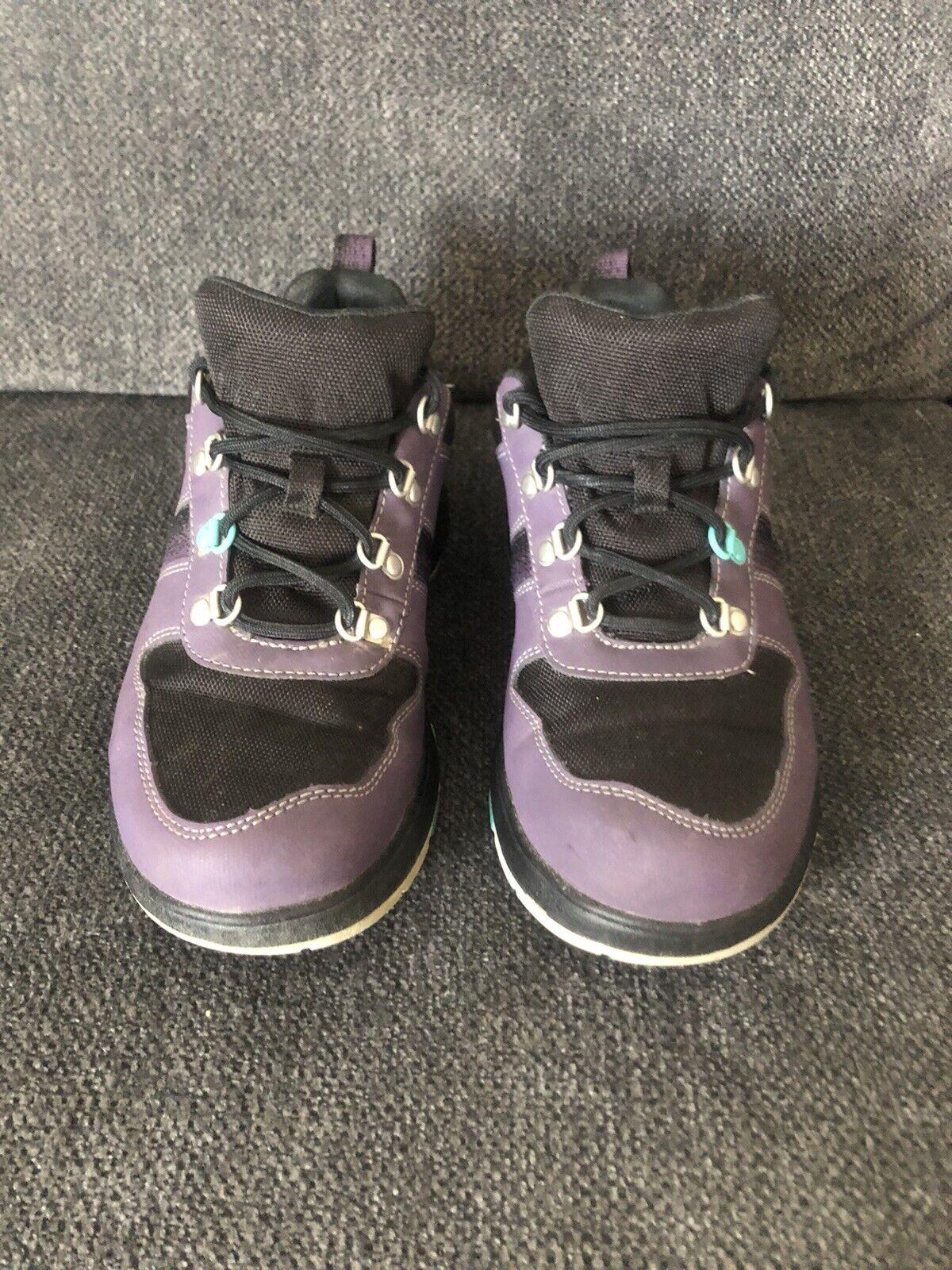 Chaco Randonnée en Plein Air Chaussures Confort Violet/Noir Femme Taille 8.5