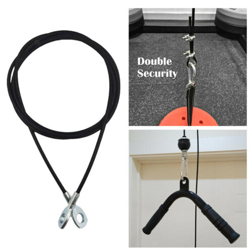 Steel Fitness DIY Pulley Cable Attachment Arm Strength Training Workout Home Gym