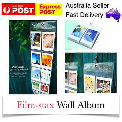Wall Album x3 Hanging Fujifilm Film Case Instax Polaroid Mini 8 7S 7 25 90 300