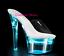 rechargeable Le changement sandales 18 plateau lumineuses le club d'Usb talon sexy de menᄄᆭ de de colorᄄᆭ a YEIeHW2D9