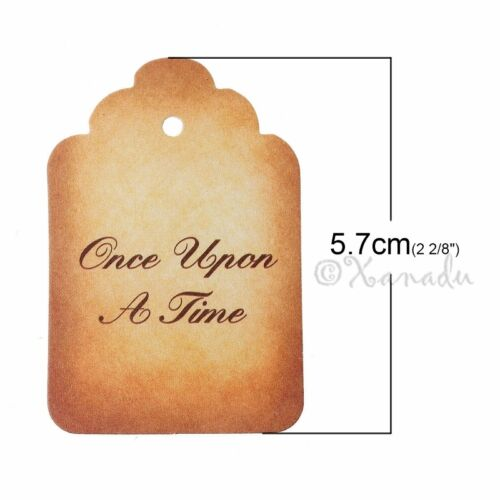 50 Or 100PCs Fairy Tale Once Upon A Time Wholesale Paper Label Tags P8364-20