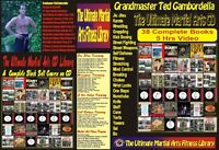 Full Martial Arts Cd Library 42 Books +5 Hr Videos