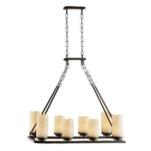 Image Is Loading Cordova Collection 8 Light Oil Rubbed Bronze Chandelier