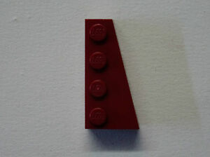 Lego - 41767 DkRed - Wedge 4 x 2 Right