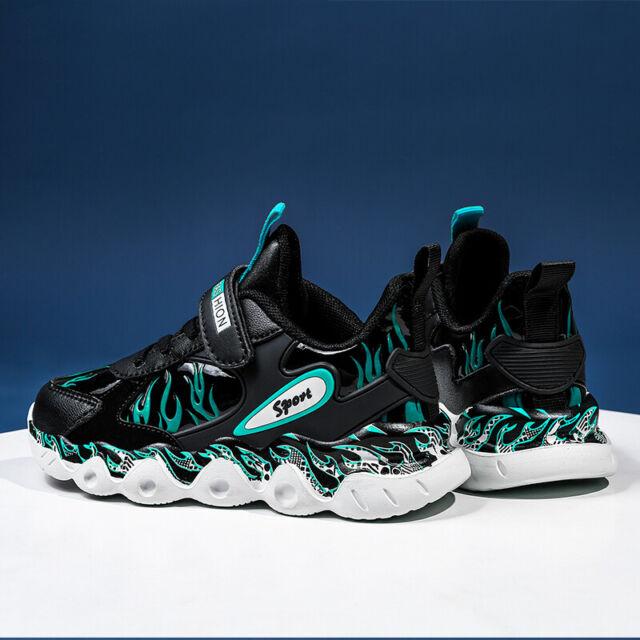 Children/'s Running Shoes Boys Girls Jogging Athletic Lightweight Tennis Sneakers
