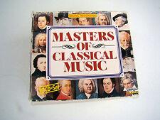 MASTERS OF CLASSICAL MUSIC 2-10 CD Box Set Bach Beethoven Chopin Strauss Vivaldi