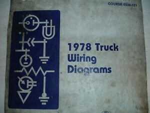 1978 Ford F600 700 F800 COWL Electrical Wiring Diagrams ...