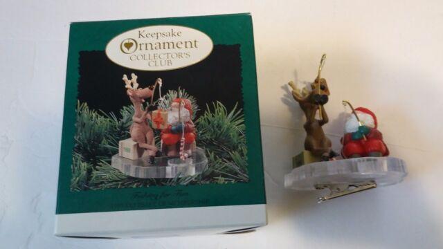 Hallmark Keepsake Christmas Ornament 1995 Collectors Club ...