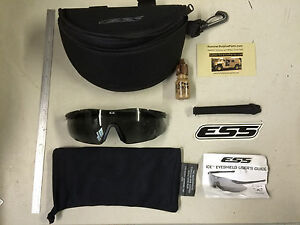 ab58137acde Image is loading Oakley-ESS-ICE-Glasses-Ballistic-Safety-Sunglasses-F0716